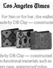 db clay featured in the LA Times gift guide